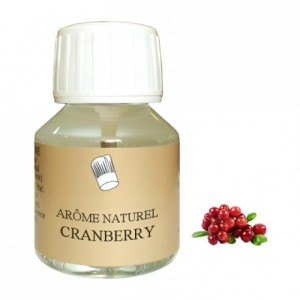 Arôme cranberry naturel 58 mL