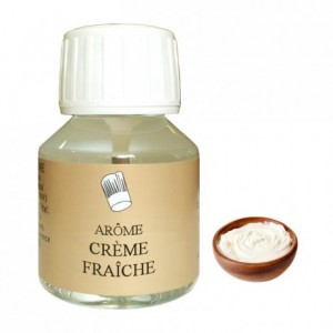 Arôme crème fraîche 58 mL