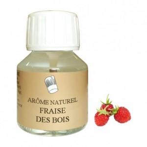 Arôme fraise des bois naturel 58 mL