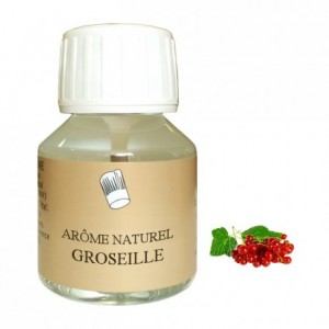 Arôme groseille naturel 58 mL