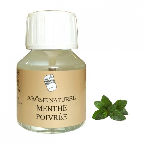 Arôme menthe poivrée naturel 58 mL