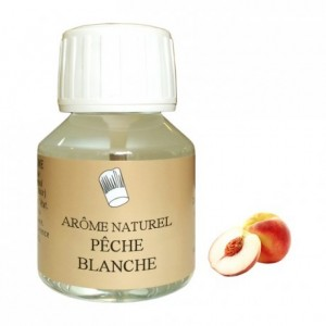 White peach natural flavou 58 mL