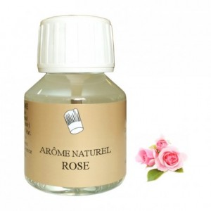 Arôme rose naturel 58 mL