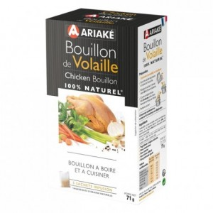 Chicken Bouillon to infuse 5 sachets for 33 cL