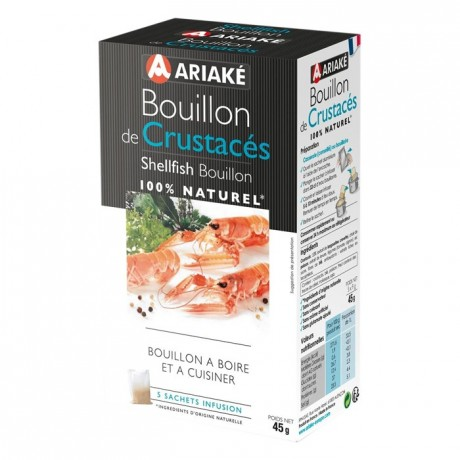 ariak shellfish bouillon to infuse 5 sachets for 33 cl. Black Bedroom Furniture Sets. Home Design Ideas