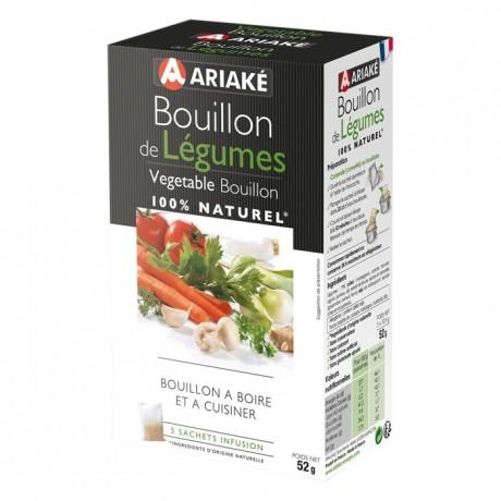 Bouillon de légumes 5 sachets à infuser de 33 cL
