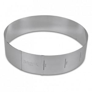 Städter Adjustable Baking Ring, Round, 7cm high