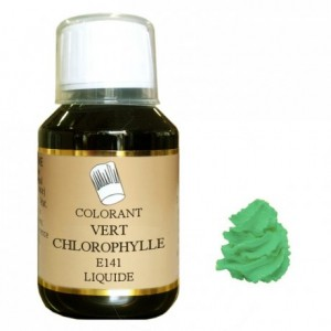 Liquid hydrosoluble colour Green chlorophyll 1 L