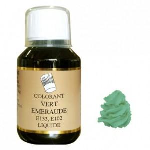 Colorant liquide hydrosoluble vert émeraude 115 mL