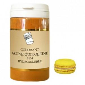 Colorant poudre hydrosoluble haute concentration jaune quinoléine 50 g