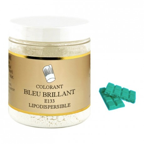 Powder liposoluble colour brilliant blue 100 g