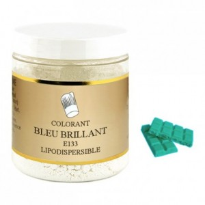 Colorant poudre liposoluble bleu brillant 500 g