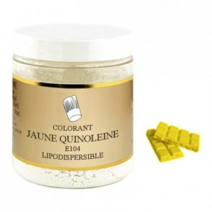 Colorant poudre liposoluble jaune citron 500 g