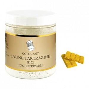 Powder liposoluble colour tartrazine yellow 100 g