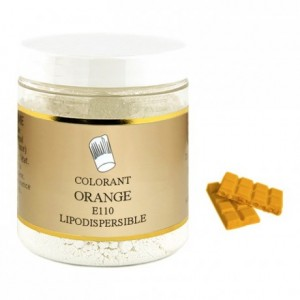 Colorant poudre liposoluble orange 100 g