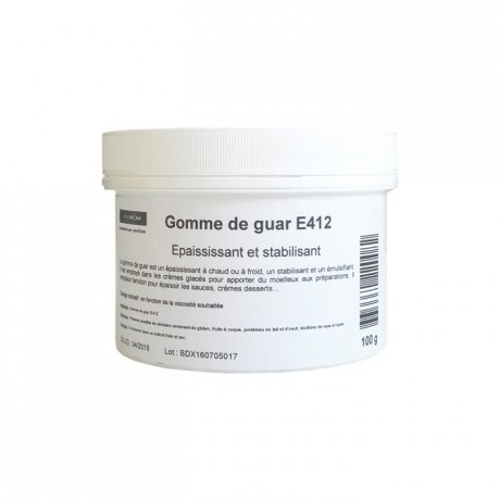 Gomme de guar E412 100 g