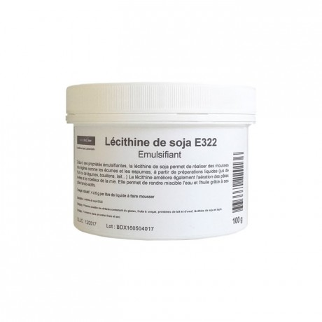 Lecitina de soya mason natural