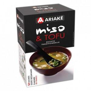 Miso & Tofu 3 sachets instantanés