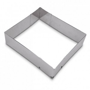 Rectangle à pâtisserie ajustable Städter hauteur 7 cm