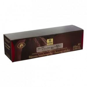 Bâtons boulangers extrudés noir 8 cm 300 unités de 5,3 g 1,6 kg