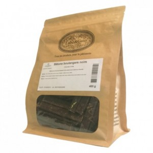 Dark chocolate extruded bâtons boulangers 44% cacao (75 sticks  400g box)