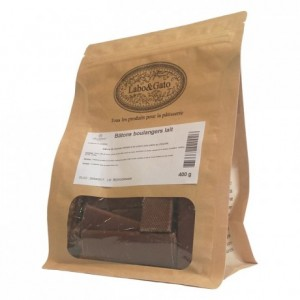 Milk chocolate extruded bâtons boulangers (40 sticks 400g)