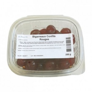 Candied cherries red 250 g