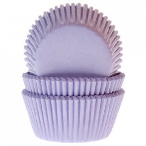 House of Marie Baking Cups Lilac pk/50