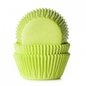 Caissettes House of Marie Lime Green 50 pièces
