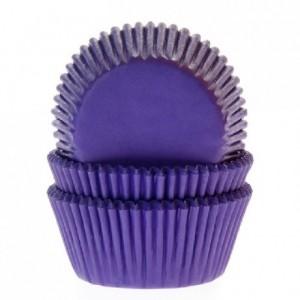 House of Marie Baking Cups Purple/Violetpk/50
