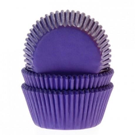 Caissettes House of Marie Purple 50 pièces