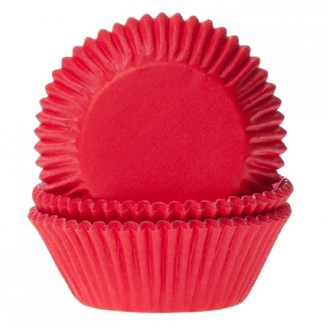Caissettes House of Marie Red Velvet 50 pièces