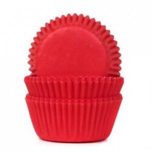 Caissettes mini House of Marie Red Velvet 60 pièces
