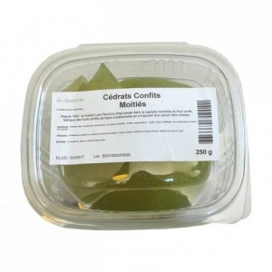 Half candied citron peels 250 g
