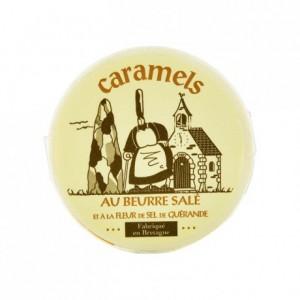 Caramels au beurre salé boite Mam Goudig 200 g