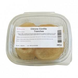 Citrons confits tranches 250 g