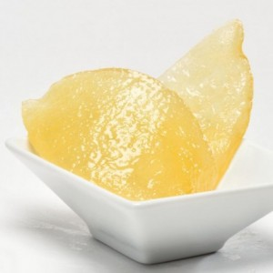 Candied lemon peels quarters 1 kg