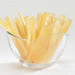Lemon peels stripes 1 kg
