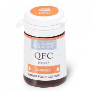 Colorant liquide QFC Squires Kitchen Orange 20 mL