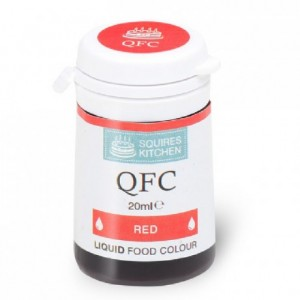 Colorant liquide QFC Squires Kitchen Red 20 mL