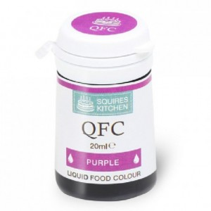 Colorant liquide QFC Squires Kitchen Purple 20 mL