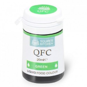 Colorant liquide QFC Squires Kitchen Green 20 mL
