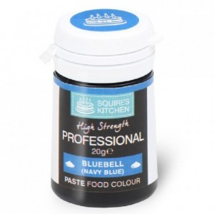 Colorant pâte Professional Squires Kitchen Bluebell Navy Blue 20 g
