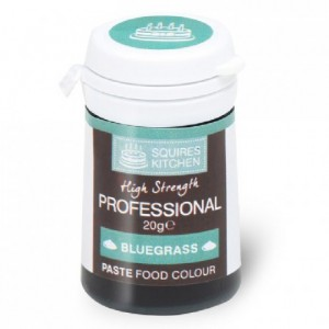 Colorant pâte Professional Squires Kitchen Bluegrass 20 g