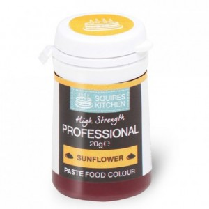Colorant pâte Professional Squires Kitchen Sunflower 20 g