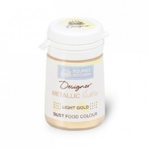 Colorant poudre Designer Metallic Lustre Light Gold 5 g