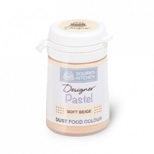 Colorant poudre Designer Squires Kitchen Soft Beige 4 g