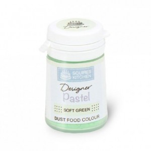Colorant poudre Designer Squires Kitchen Soft Green 4 g