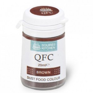 Colorant poudre QFC Squires Kitchen Brown 4 g
