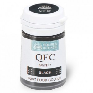 SK QFC Quality Food Colour Dust Black 4g